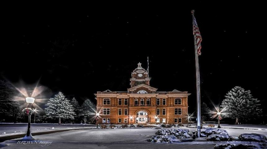 Winter Courthouse