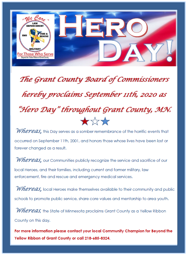 Hero Day Proclamation